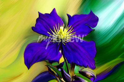 Carta da parati Nadmorski Kwiat