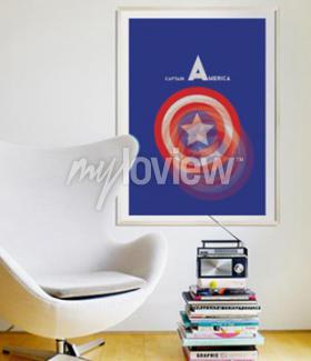 Carta da parati Captain America