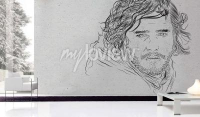 Carta da parati Jon Snow