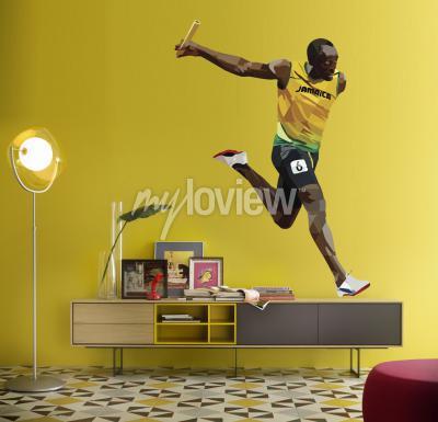 Carta da parati Usain Bolt