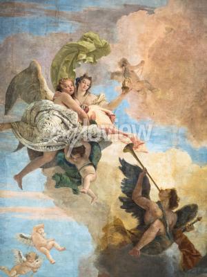 Quadro Particolare dell'affresco di Giambattista Tiepolo Italia