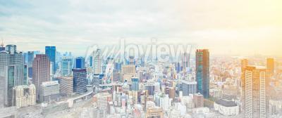 Asia business concept per immobili e costruzione aziendale