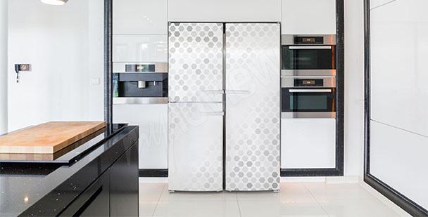 Adesivo astratto per frigorifero