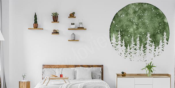Adesivo da parete per camera da letto