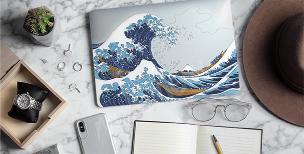 Adesivo Hokusai - La grande onda