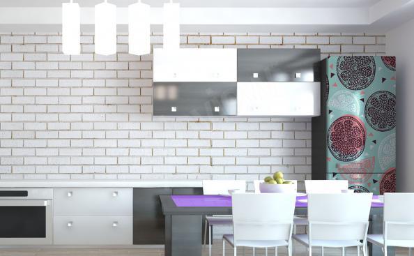 Adesivo per frigorifero – agrumi