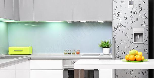 Adesivo per frigorifero gocce d'acqua