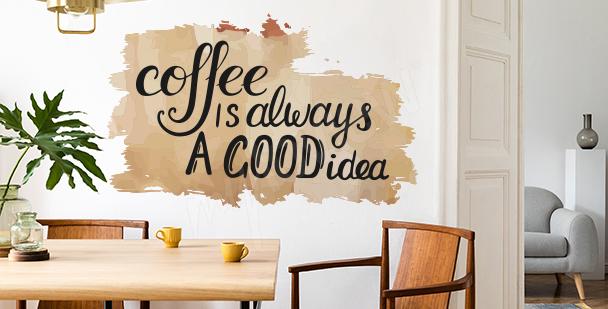 Adesivo per gli amanti del caffè
