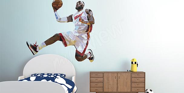 Adesivo sportivo LeBron James