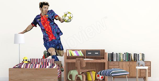 Adesivo sportivo Leo Messi