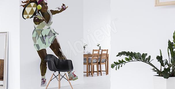 Adesivo sportivo Serena Williams