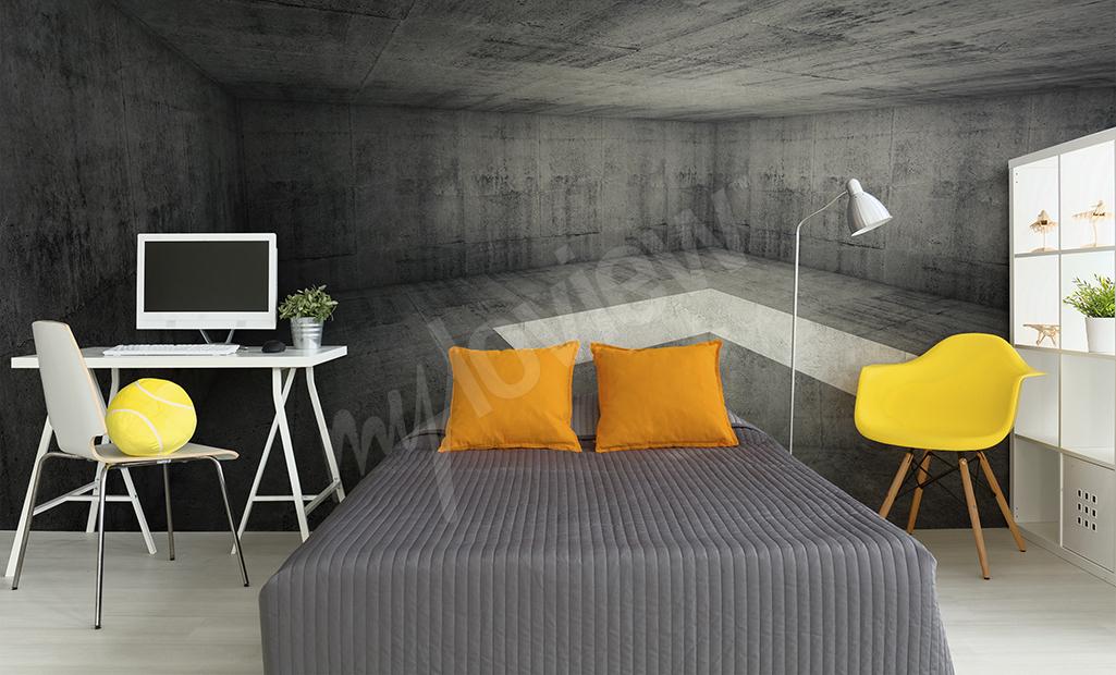 Articoli carta da parati in 3d che aumenta otticamente - Carta da parati in camera da letto ...