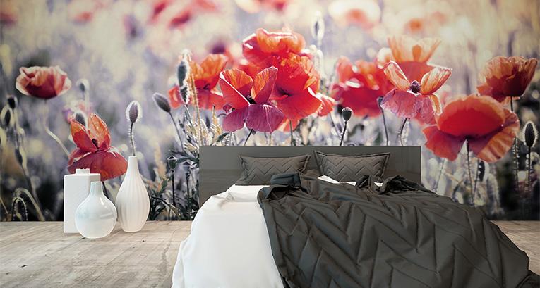 Una camera da letto può avere molte facce