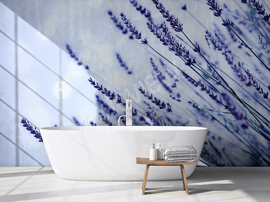 Articoli lavanda un oasi di pace la carta da parati - Carta da parati per bagno ...