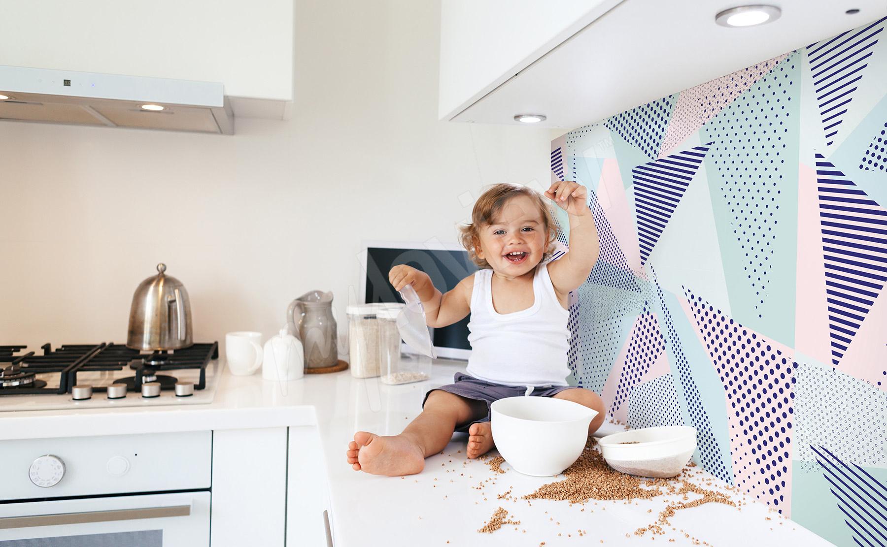Carta da parati Cucina •su misura della parete | myloview.it