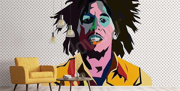 Carta da parati Bob Marley