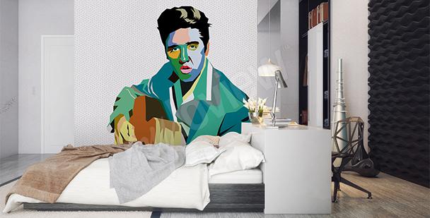 Carta da parati Elvis Presley