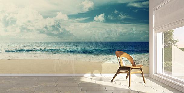 Carta da parati mare spiaggia
