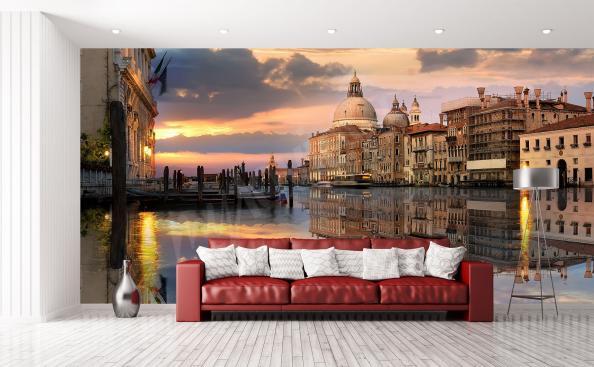 Carta da parati Venezia per soggiorno