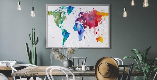 Poster a colori per sala da pranzo