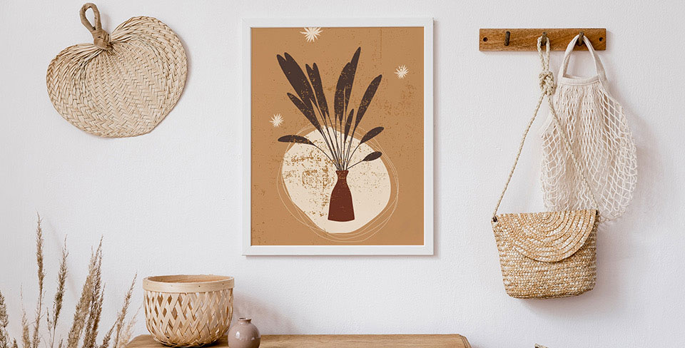 Poster erbe in vaso