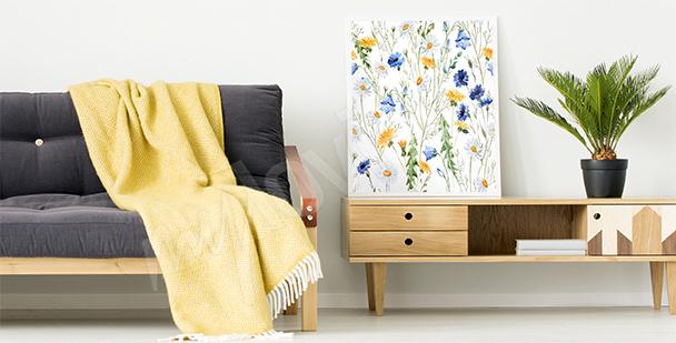 Poster fiori selvatici