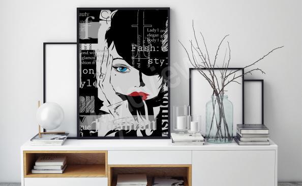 Poster in bianco e nero