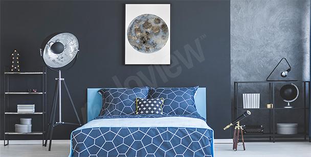 Poster per camera da letto con luna
