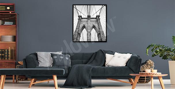 Poster ponte di Brooklyn