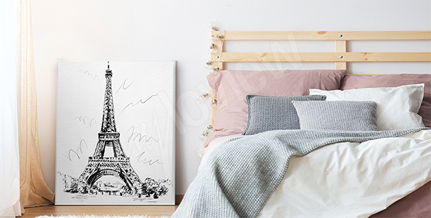 Poster romantico per camera da letto