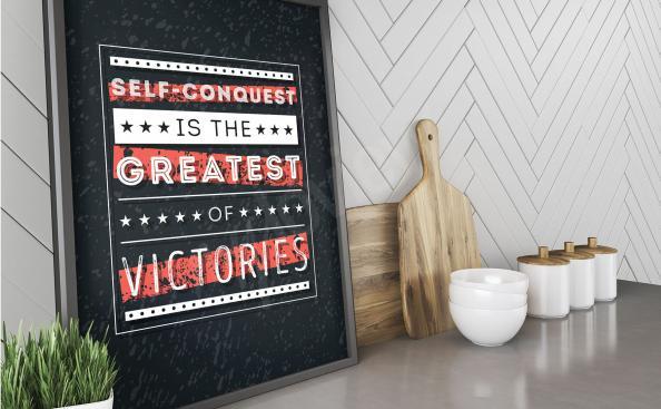 Poster tipografico - motivazione
