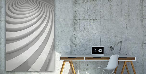 Quadro 3D per ufficio