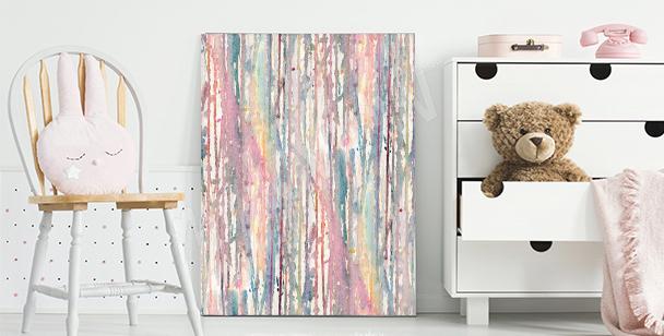 Quadro acquerelli pastello