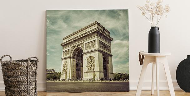Quadro Arco di Trionfo a Parigi