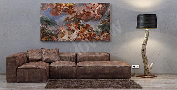 Quadro barocco pittura