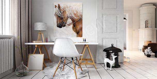 Quadro cavallo maestoso