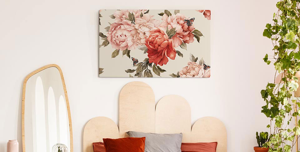 Quadro fiori in fiore