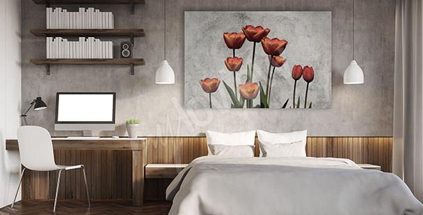 Quadro fiori per camera da letto