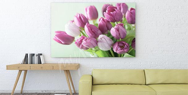 Quadro mazzo di tulipani