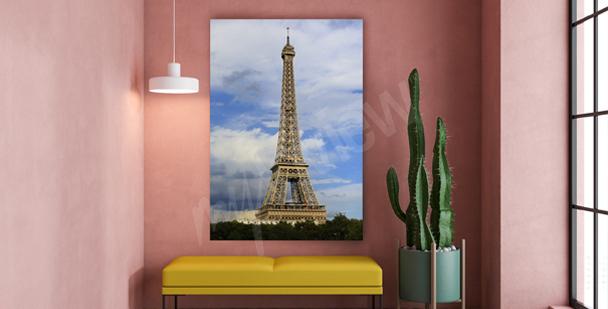 Quadro Parigi per ingresso