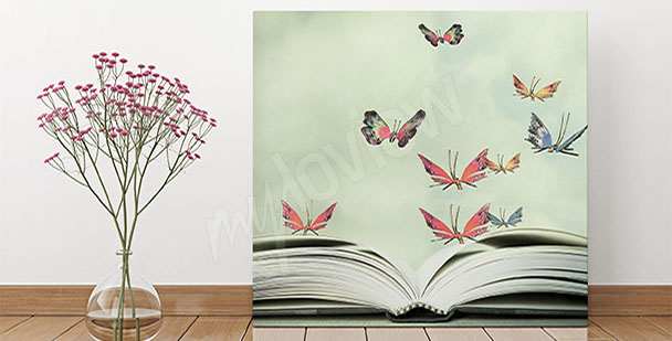 Quadro per ingresso - farfalle