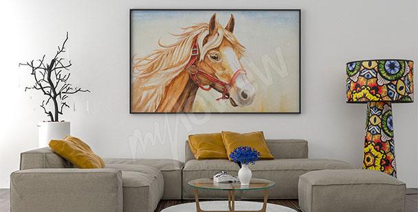 Quadro per salotto cavallo