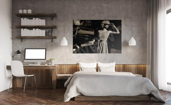 Quadro rétro per camera da letto